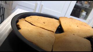 Brown Sugar Rice Cake with Lemon Peels!
