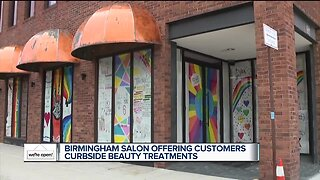 We're Open Detroit: Birmingham 6 Salon is offering curbside color
