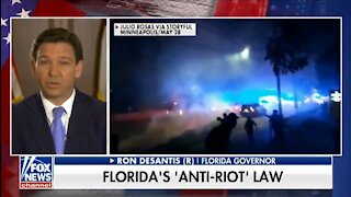 DeSantis: Florida Will NOT Defund The Police & Won't Be Portland