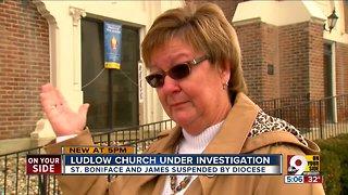 Ludlow church under investigation