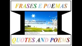 Você tem tantas qualidades [Frases e Poemas]