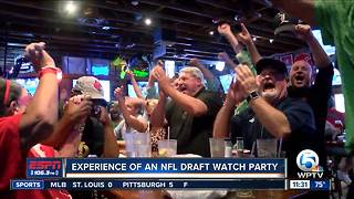 The Experience of Lamar Jackson's NFL Draft Party