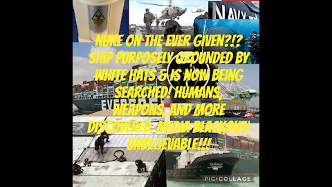 NUKE on Evergreen Ship!?! NAVY SEALS searching ship now!
