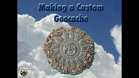 Making a custom camouflaged Geocache