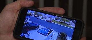 Neighbors confront tire slasher