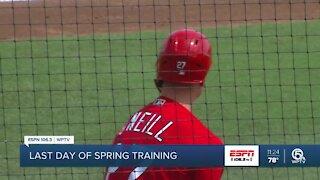 Spring Training comes to a close