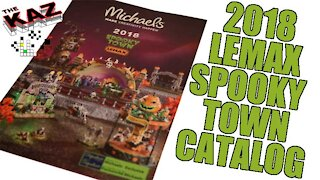 2018 Michael's Lemax Spooky Town Halloween Catalog