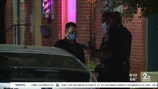 Baltimore Police Officer shot on Tuesday night