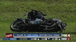 Motorcyclist killed in crash Saturday in Cape Coral
