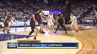 Bronco Bold text campaign