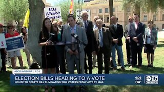 Controversial election bills heading to a vote