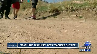 """""""Teach the Teachers"""" gets teachers outside"""