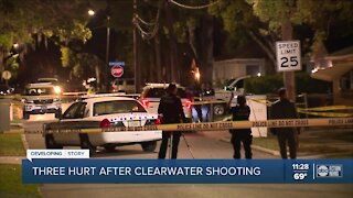 3 people shot in Clearwater late Friday, police say