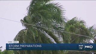 Collier county prepares for Tropical Storm Eta