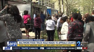 Discussion continues over Baltimore's food truck policies