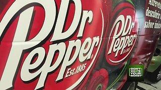 Make money advertising Dr Pepper?