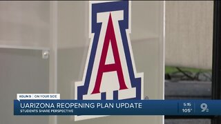 Student leaders voice concerns over UArizona reopening plans