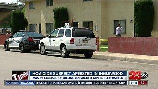 Homicide suspect arrest