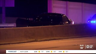 Tampa Police investigate shooting that closed southbound I-275 overnight