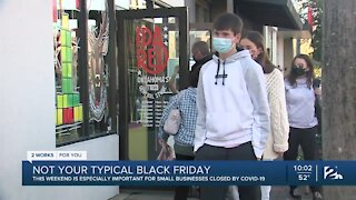 Local shops gearing up for big shopping weekend