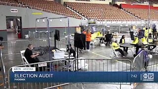 Election audit continues in Arizona