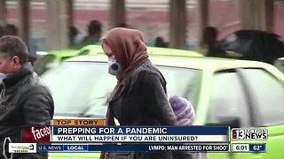 Preparing for a coronavirus pandemic with no insurance