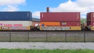 Norfolk Southern 234 Intermodal Train from Fostoria, Ohio May 8, 2021