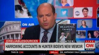 "CNN's Brian Stelter GUSHES Over Hunter Biden's Memoir: ""Extraordinary"""