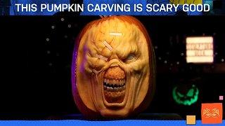 Terrifying Pumpkin Carving