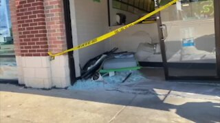 Car crashes into Mayfield Heights Subway
