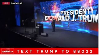 President Trump speech in Phoenix, Arizona July 24, 2021