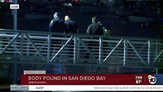 Body found in San Diego Bay