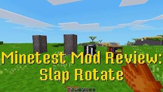 Minetest Mod Review: Slap Rotate