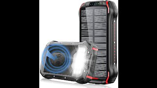 i26w Solar Charger Product Review