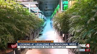 Recreational marijuana could be on the horizon