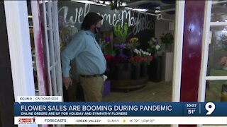 Business is 'blooming' at a Tucson flower shop