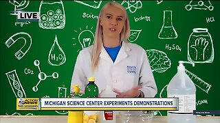 Michigan Science Center Experiments