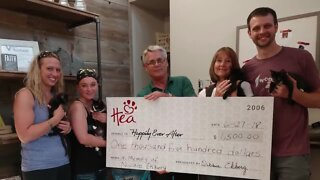 Dean's wish to raise funds for Happily Ever After