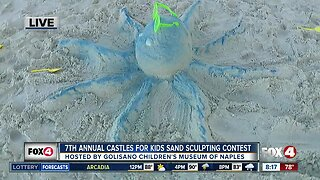C'MON holds annual kids sand castle competition in Naples