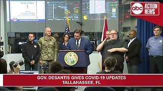 Gov. DeSantis: 24 new cases in state, Florida's total reaches 216