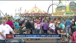 Nebraska State Fair to open late August