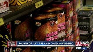 Fourth of July tips amid coronavirus pandemic