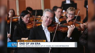 Milwaukee Symphony Orchestra concertmaster steps down