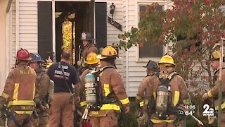 Two families displaced after fire in Columbia