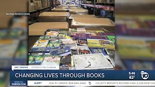 Changing lives through books