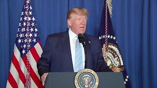 President Trump addresses Iran crisis