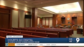 Arizona courts to begin storing evidence digitally