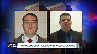 Two Macomb County jail deputies accused of abuse