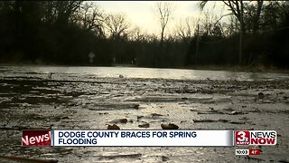 Dodge County closes road due to flooding
