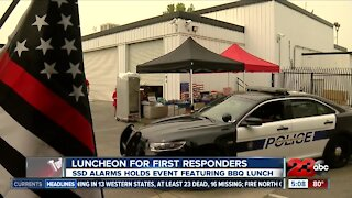 Luncheon for first responders